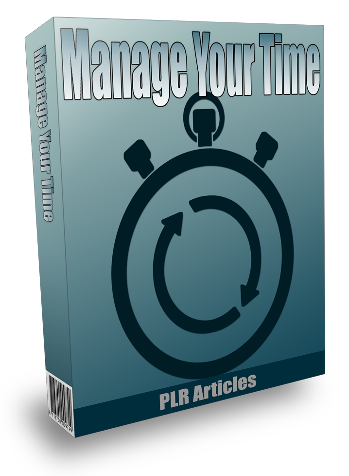 Manage Your Time PLR